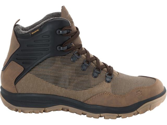 best service f63bb b6dac Jack Wolfskin Seven Wonders Texapore Mid Shoes Herren dark wood